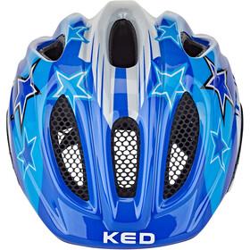 KED Meggy II Helmet Kids blue stars